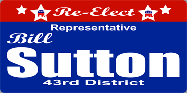 Sutton yard sign